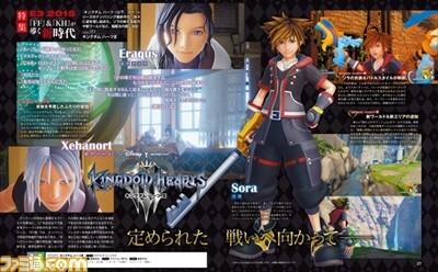 Kingdom Hearts 3 Famitsu Scans