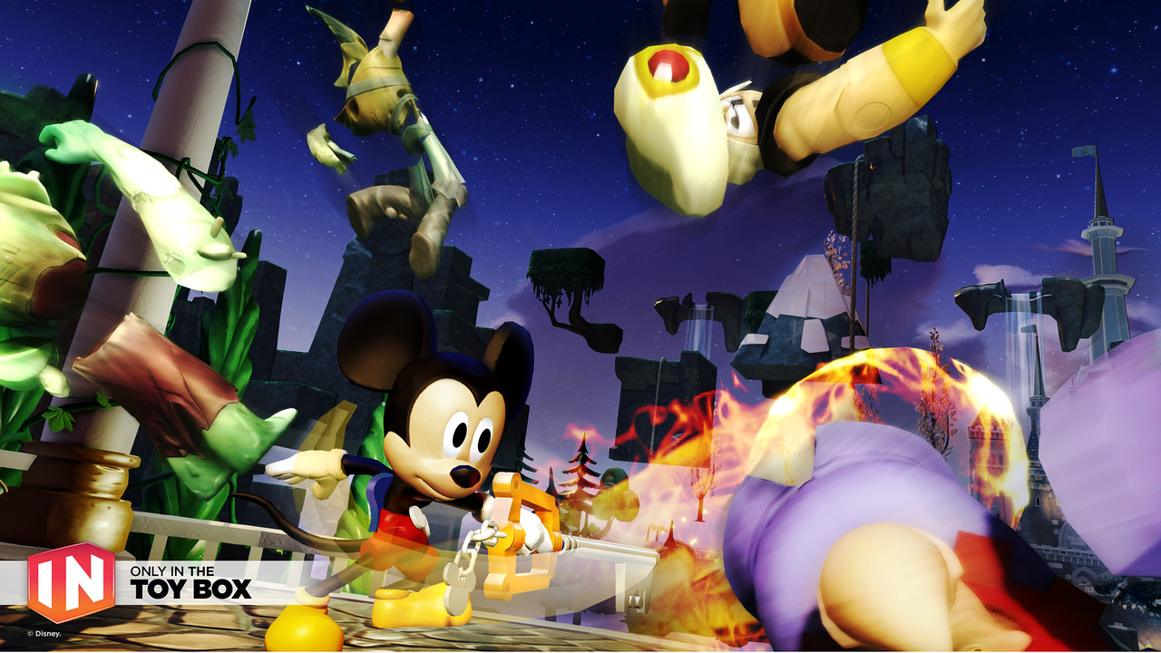 Kingdom Hearts / Disney Infinity 3.0 Crossover | Keyblade Unlock and Mickey Costume
