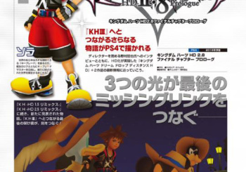 Kingdom Hearts 2.8 Featured in Dengeki PlayStation (Scans and Interviews)