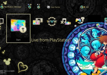 Kingdom Hearts 1.5 + 2.5 PS4 Themes