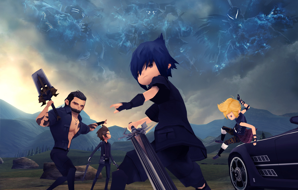 Final Fantasy XV Universe Expansion (Pocket Edition, Windows Edition, Monster of the Deep)