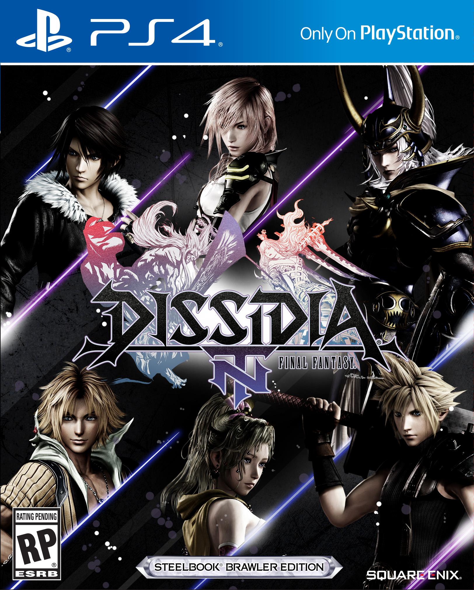 Dissida Final Fantasy NT Cover Art 01