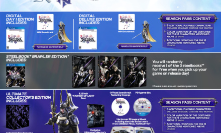 Dissidia Final Fantasy NT – North America Release on January 30