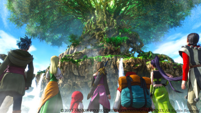 Dragon Quest XI World