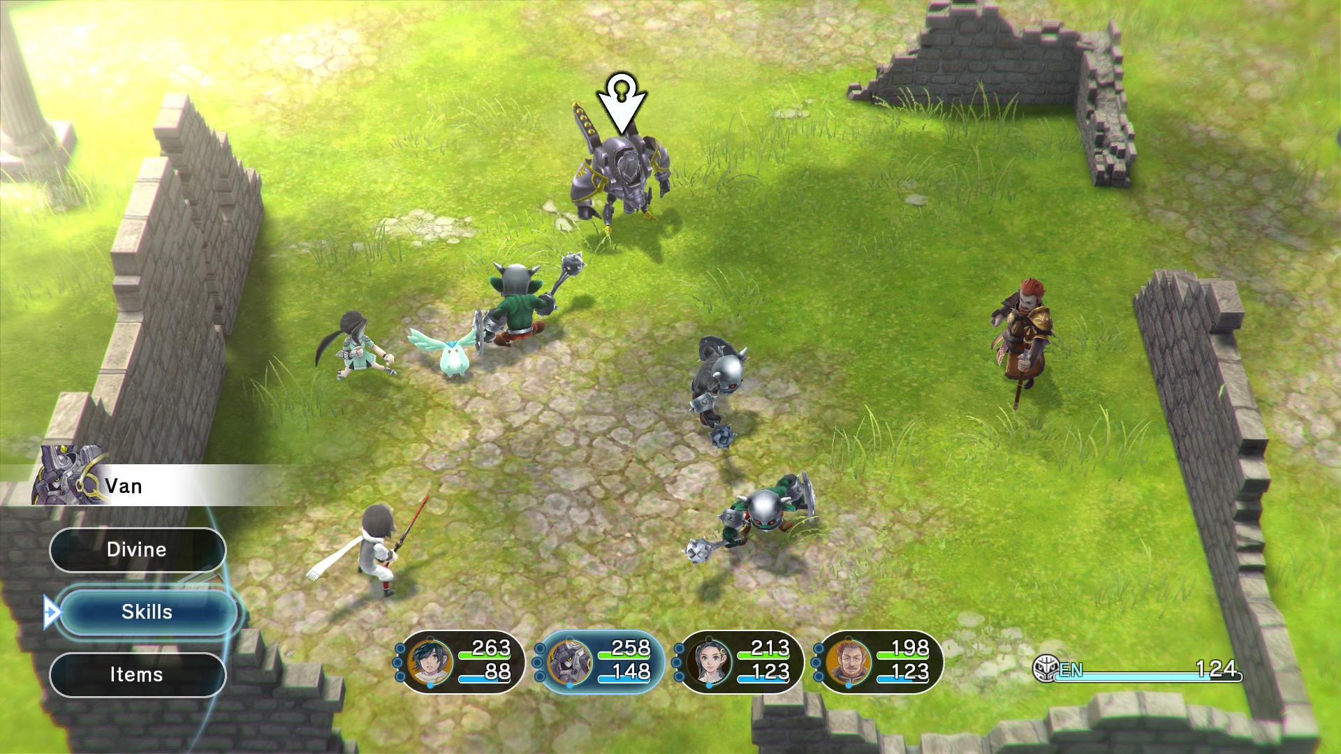 LOST SPHEAR screenshot 22