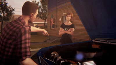 Life is Strange Before the Storm Chloe and David 01