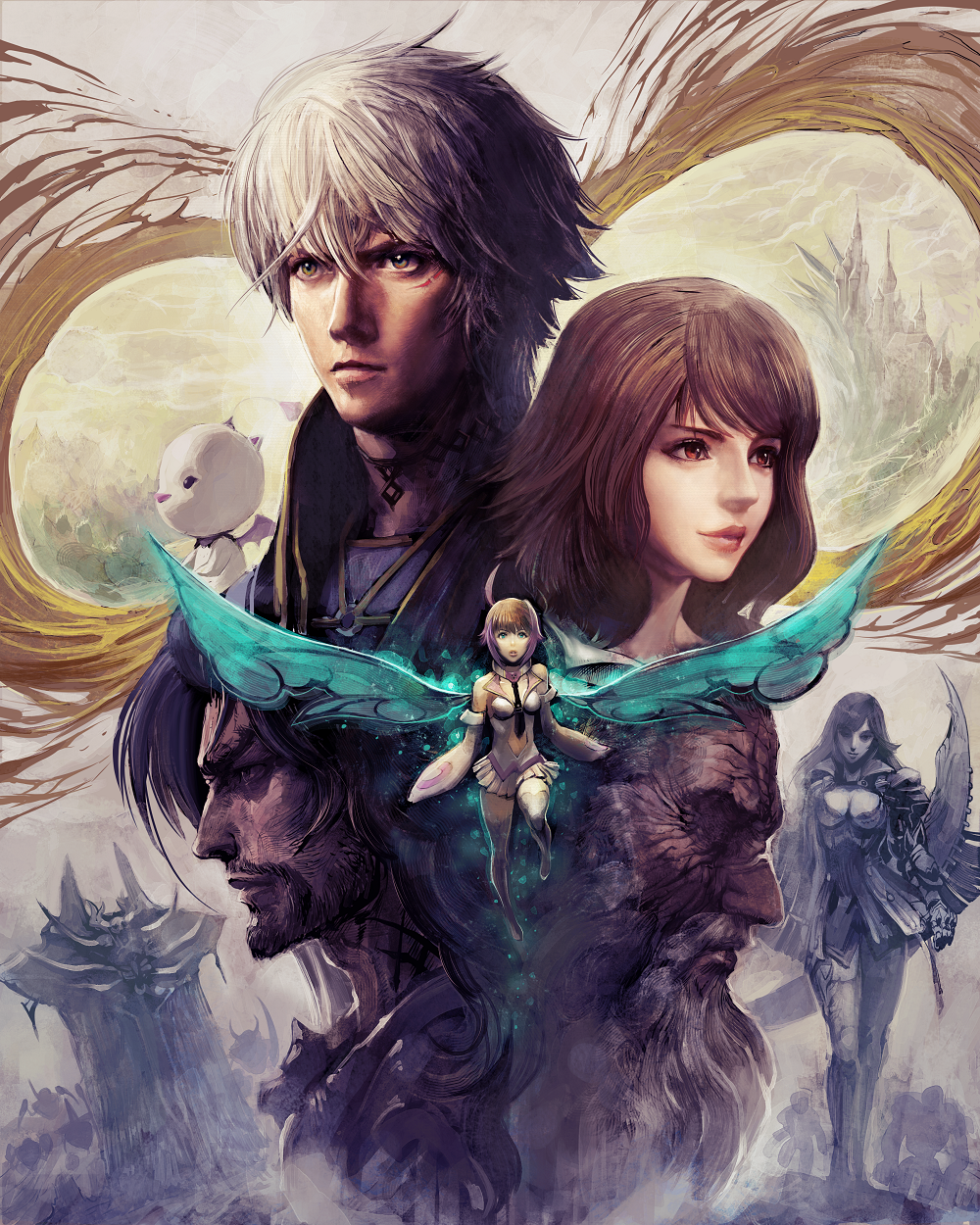 Mobius Final Fantasy Anniversary Art
