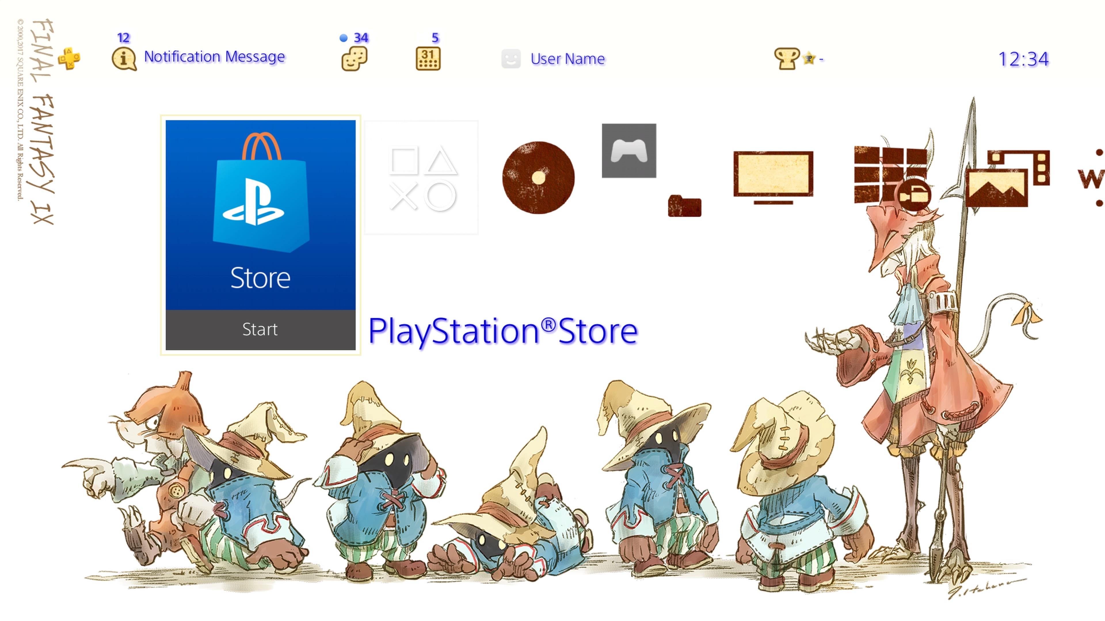 Final Fantasy IX PS4 Theme 01