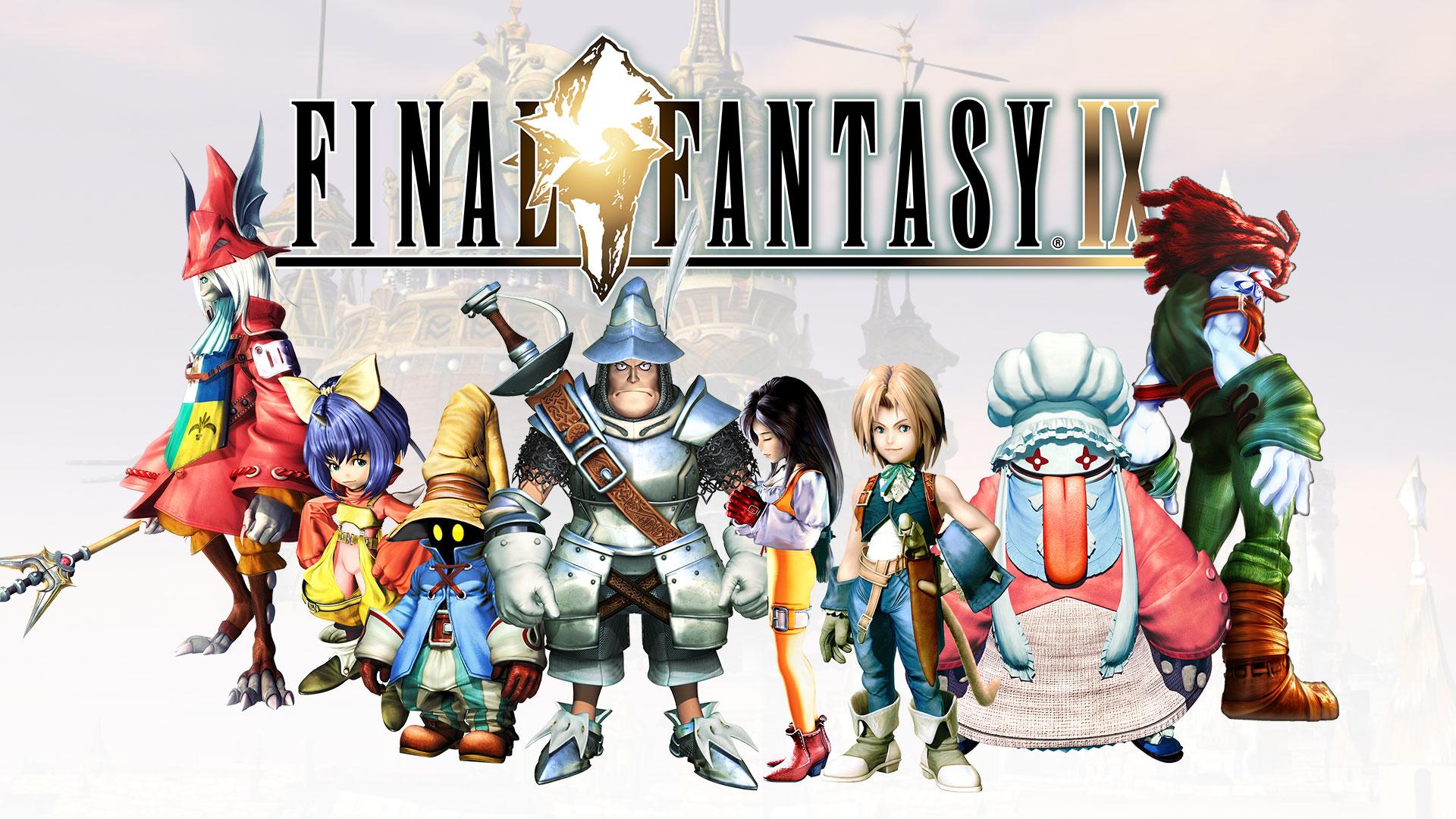 Final Fantasy IX Logo and Artwork