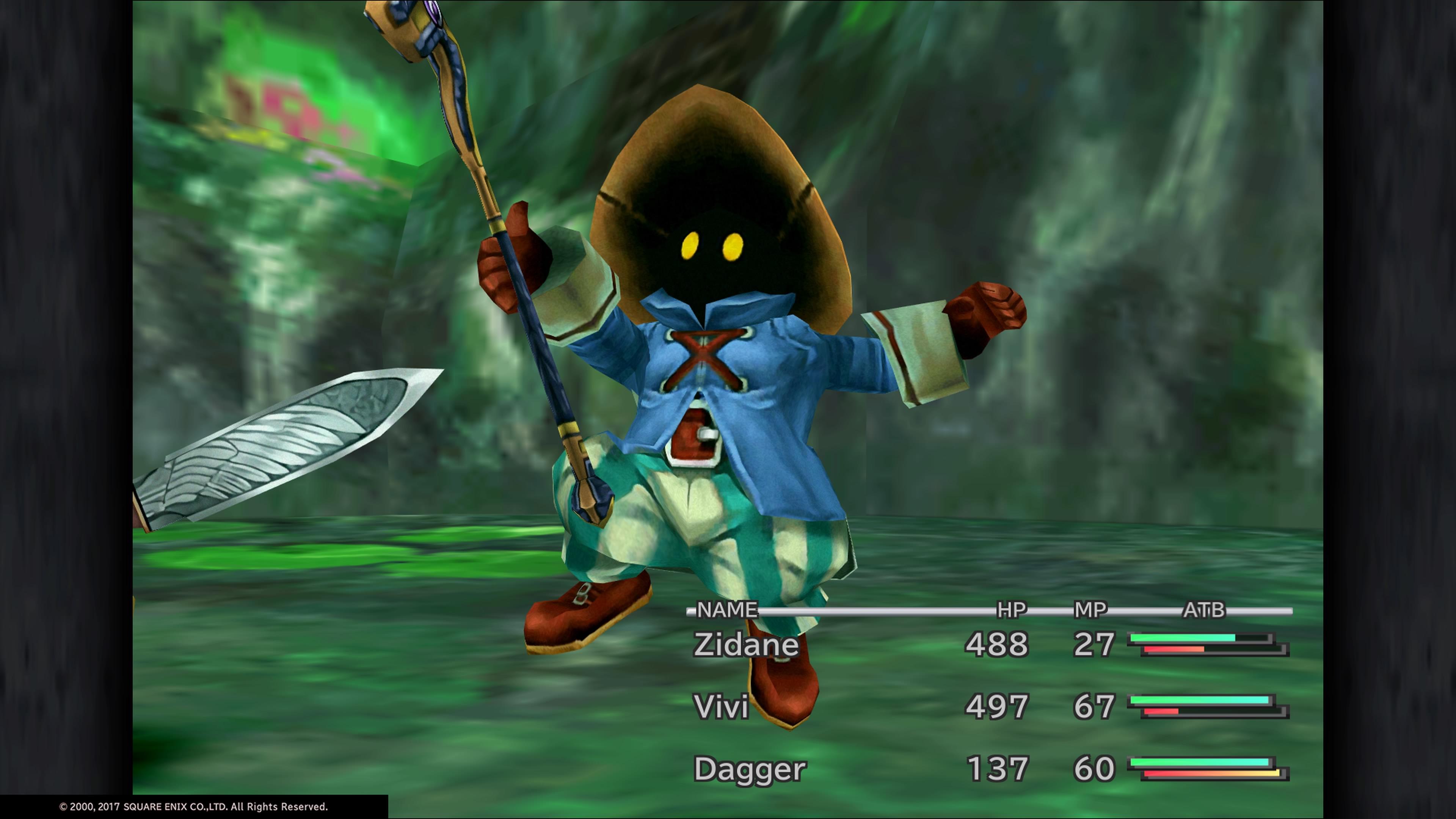 Final Fantasy IX Vivi Gameplay