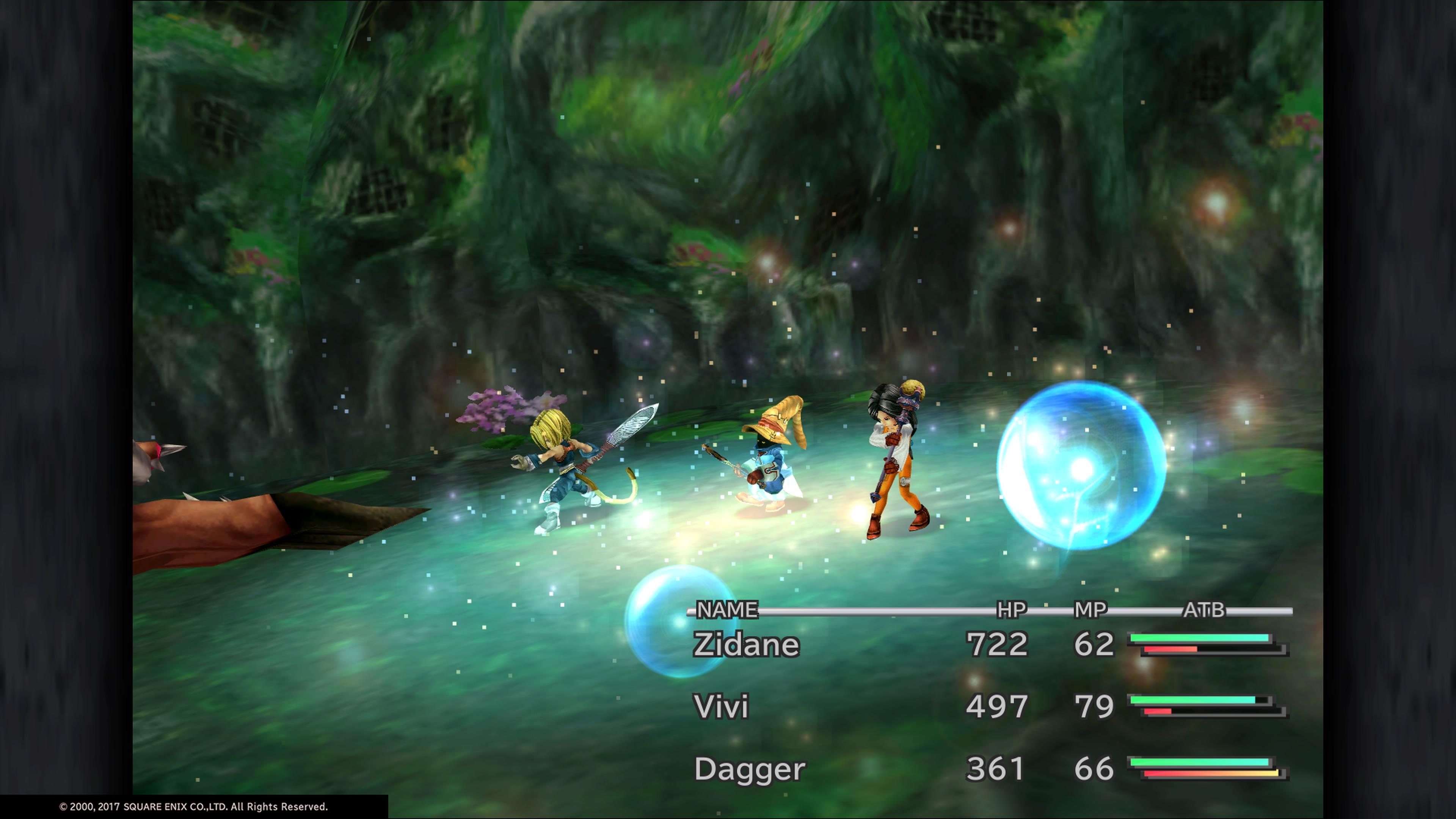 Final Fantasy IX Battle Gameplay