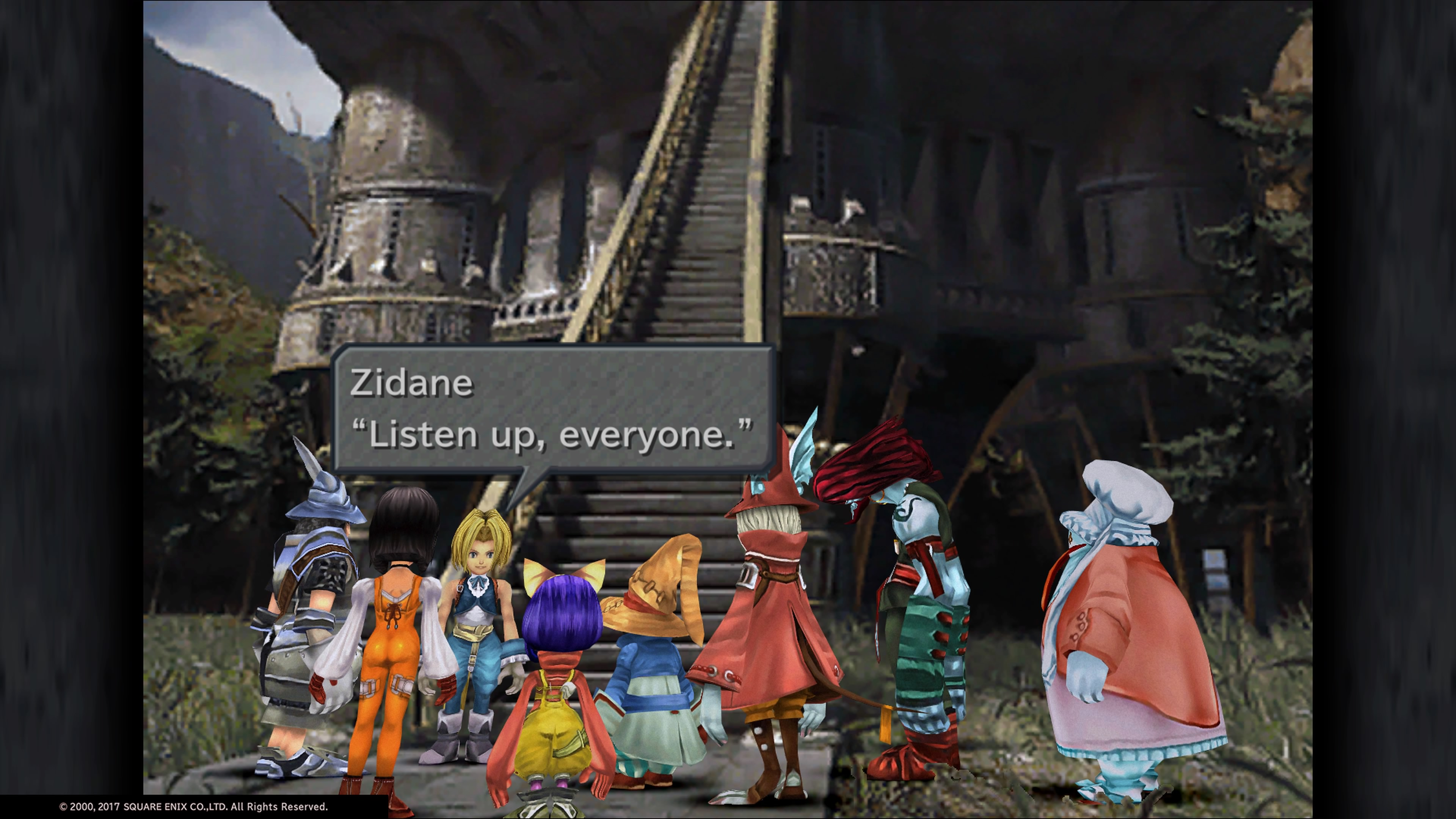 Final Fantasy IX Game Dialogue