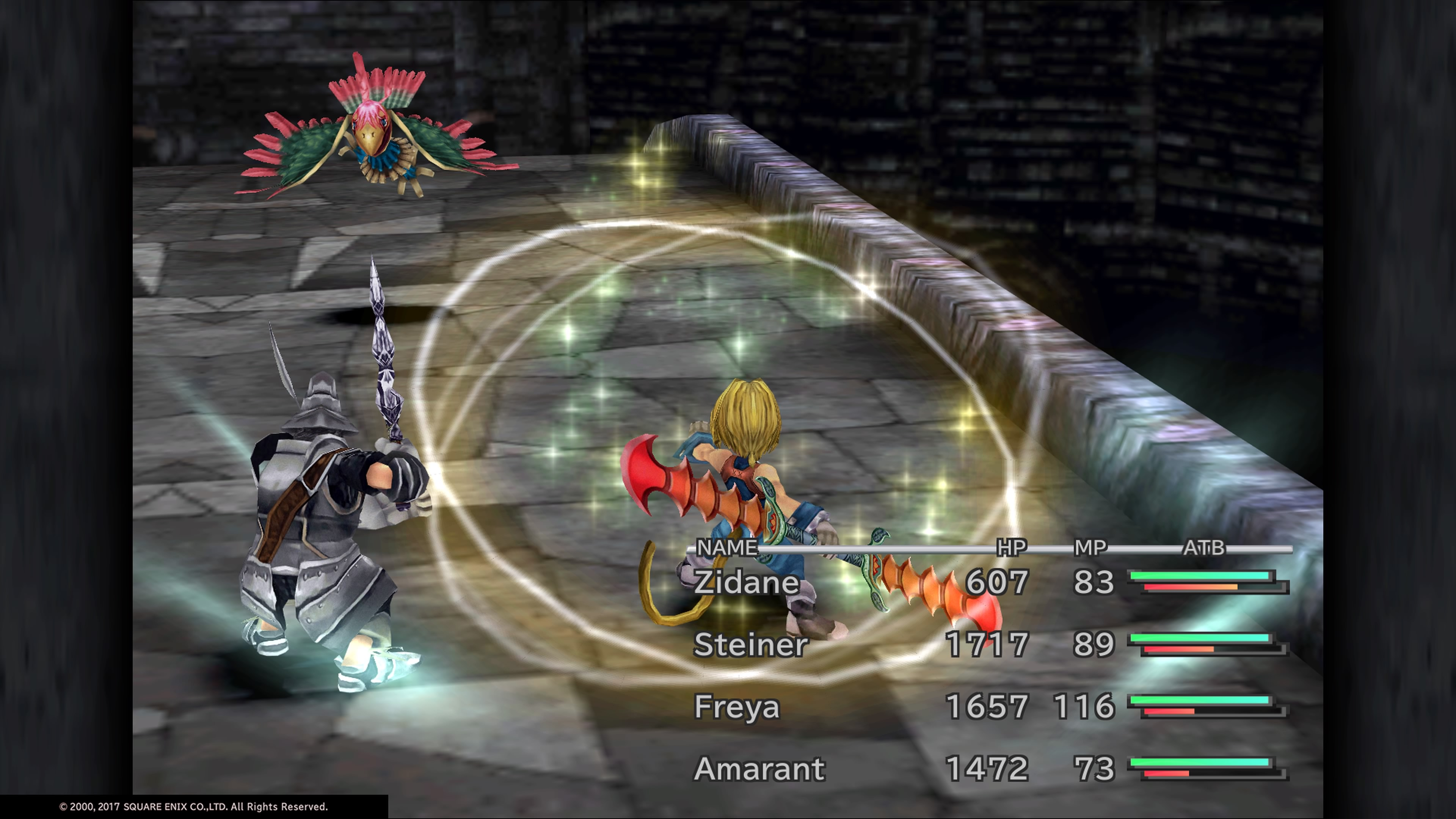 Final Fantasy IX Zidane Gameplay