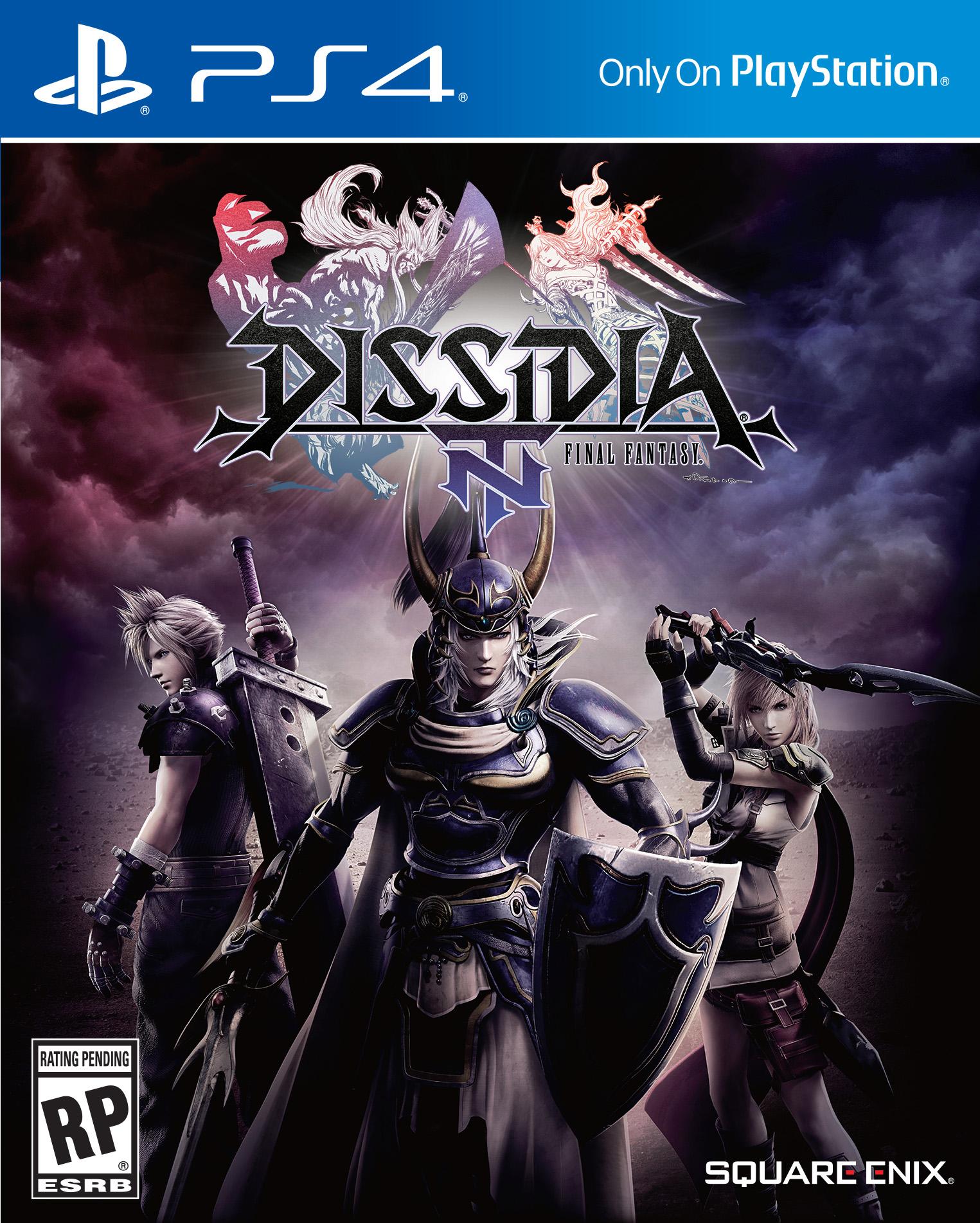 Dissidia Final Fantasy NT Boxart 02