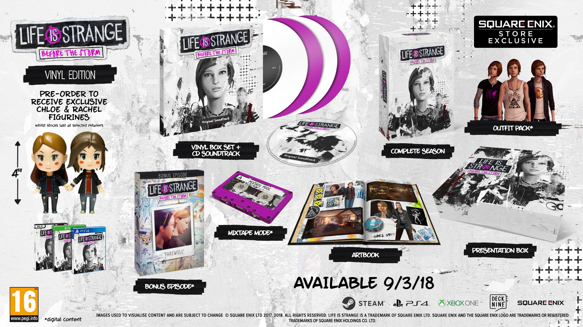 Life is Strange Before the Storm - Vinyl Edition