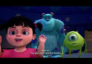 Kingdom Hearts 3 D23 Trailer - Monster Inc Confirmed