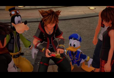 Kingdom Hearts 3 Classic Kingdom Mini-Games