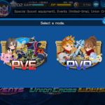 khux union x pvp mode and pve mode