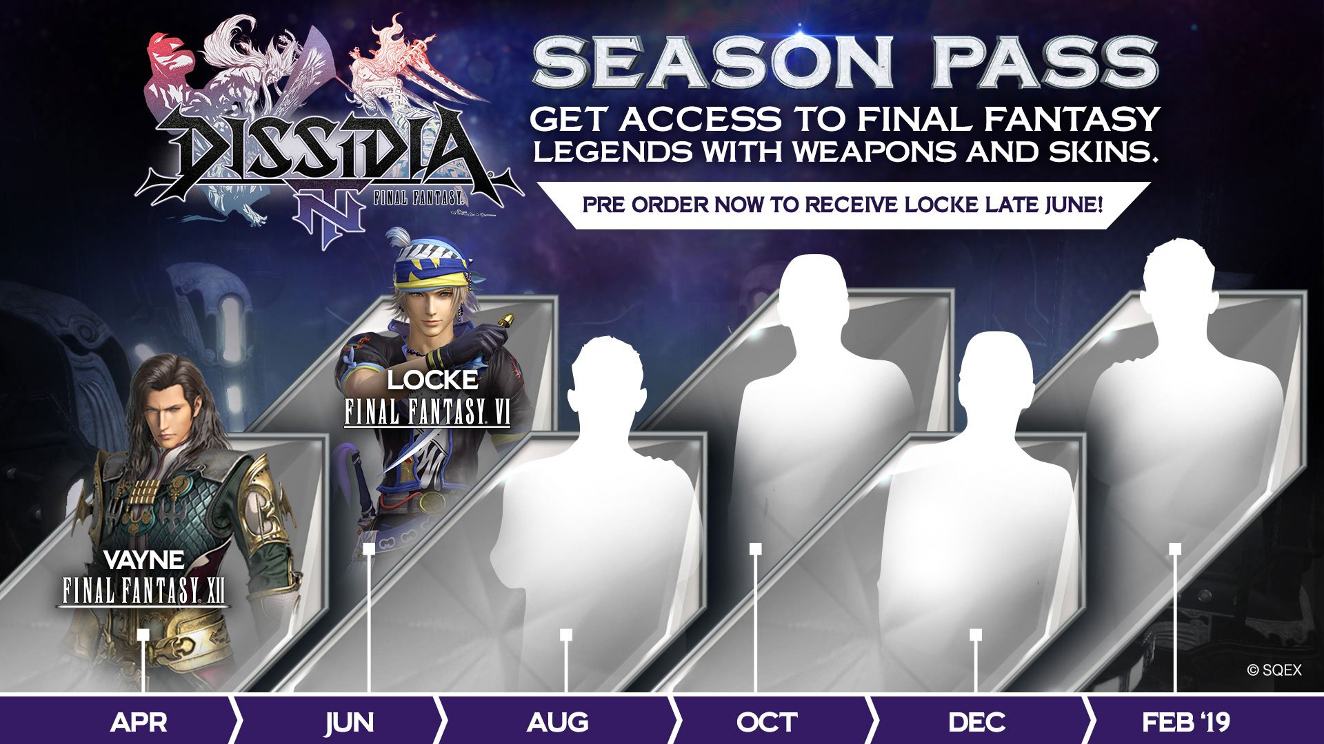 Dissidia NT Season Pass (2 Reveal)