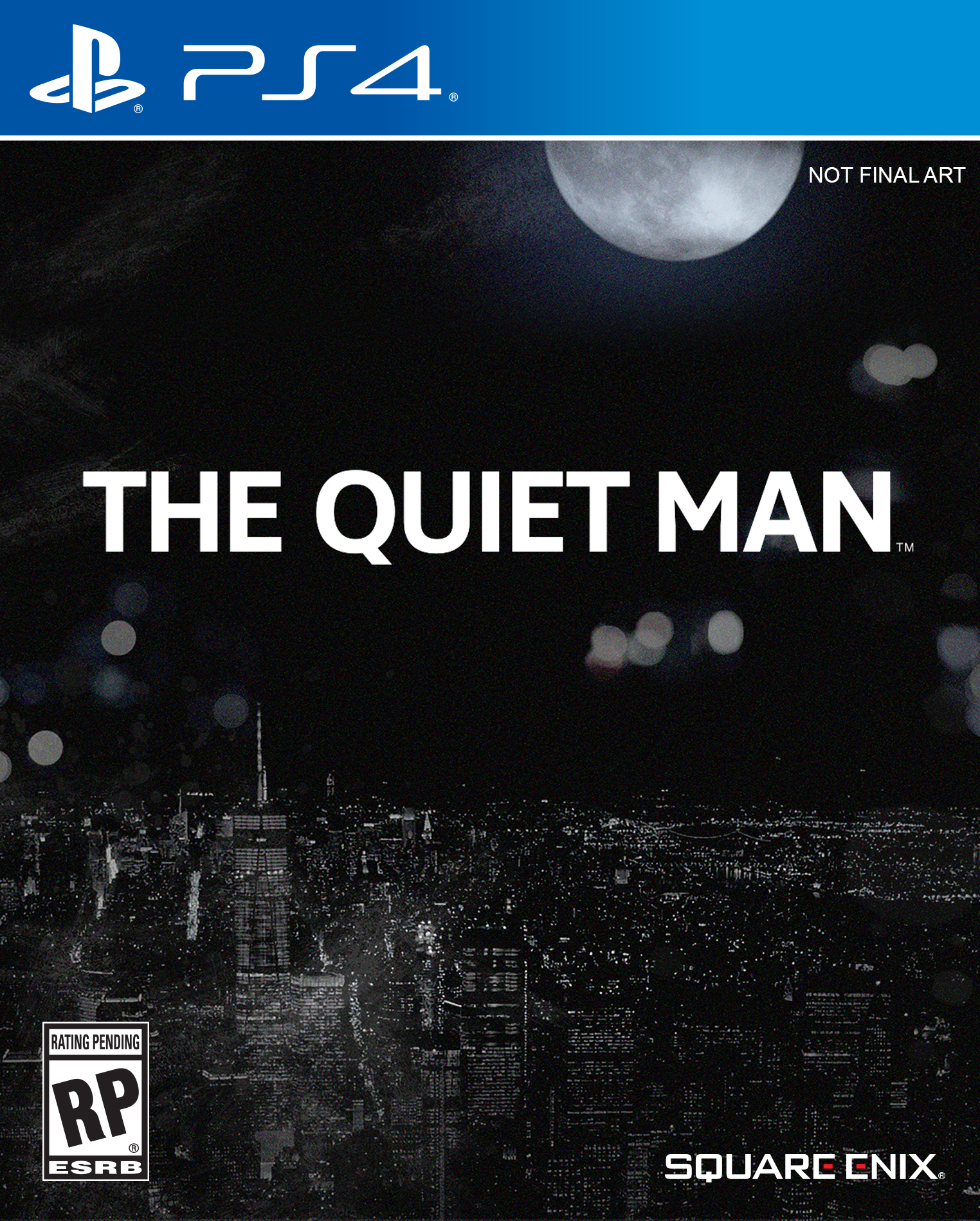 The Quiet Man PS4 Cover