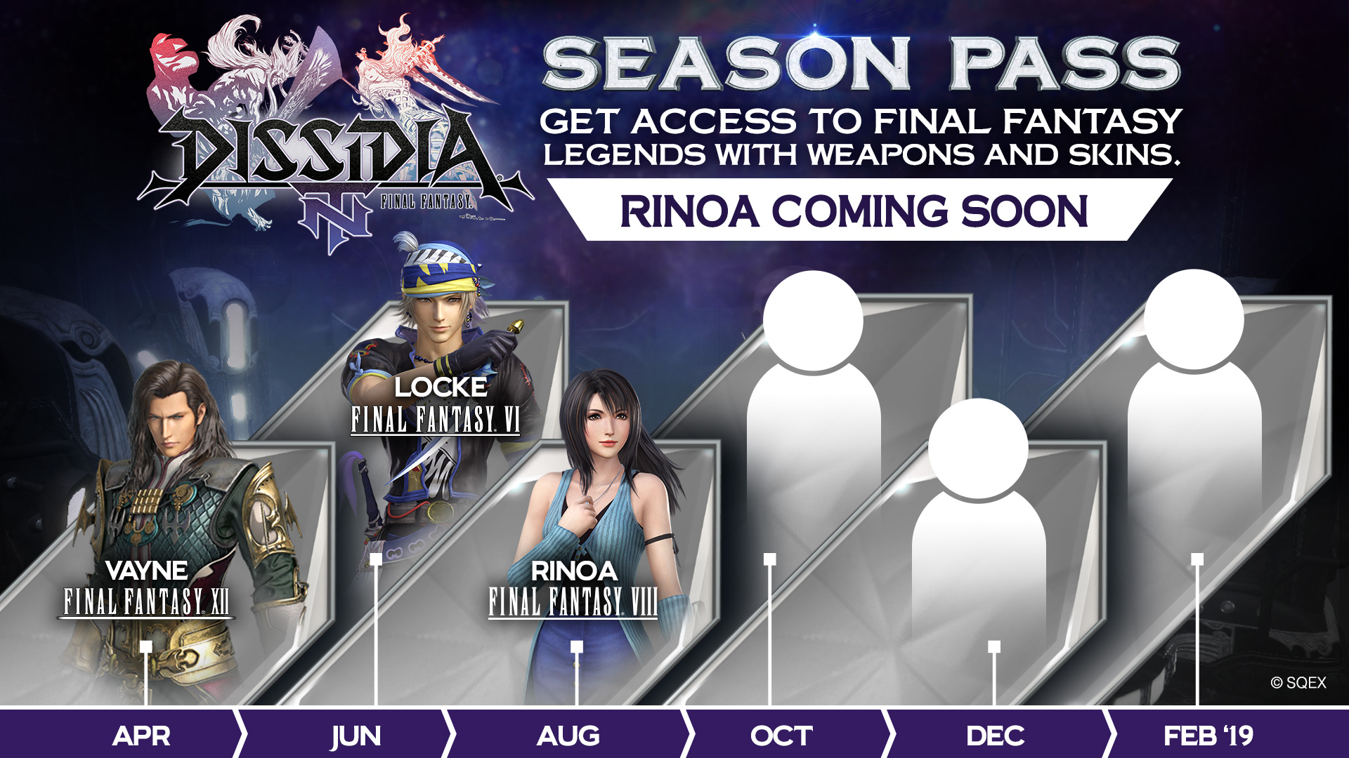Dissidia NT Season Pass (3 Reveal)