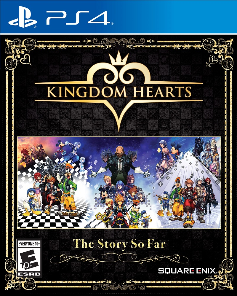 Kingdom Hearts The Story So Far Cover Art