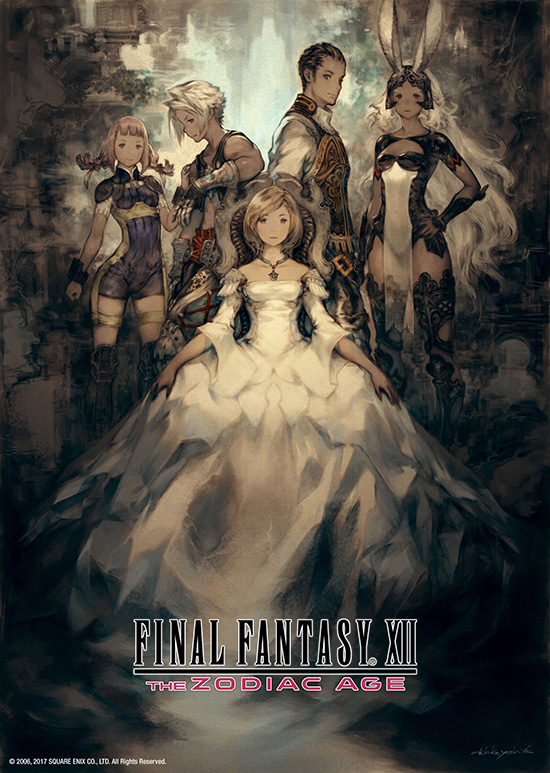 New Final Fantasy Zodiac Age Cover Art