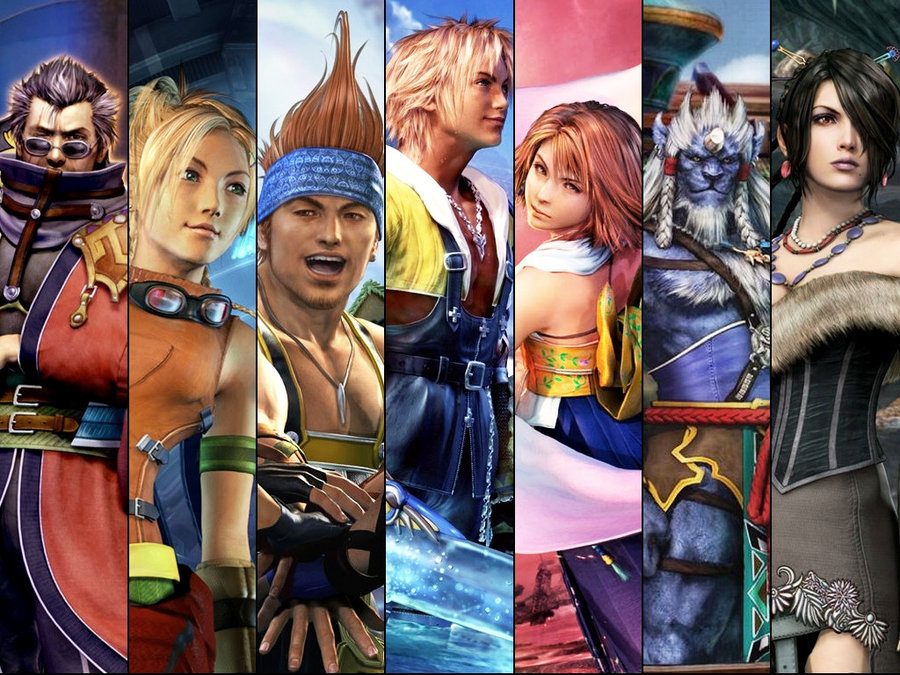 The Best 3 Person Parties in Final Fantasy X