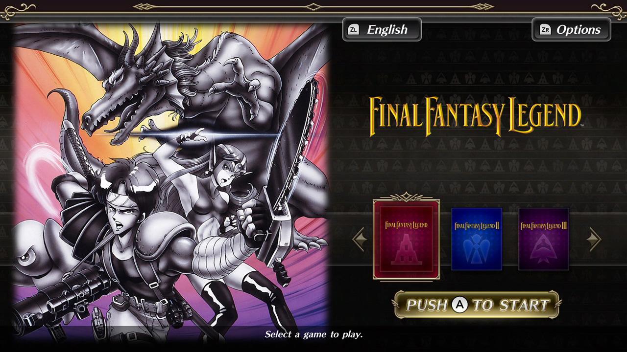 FF Legend Screen