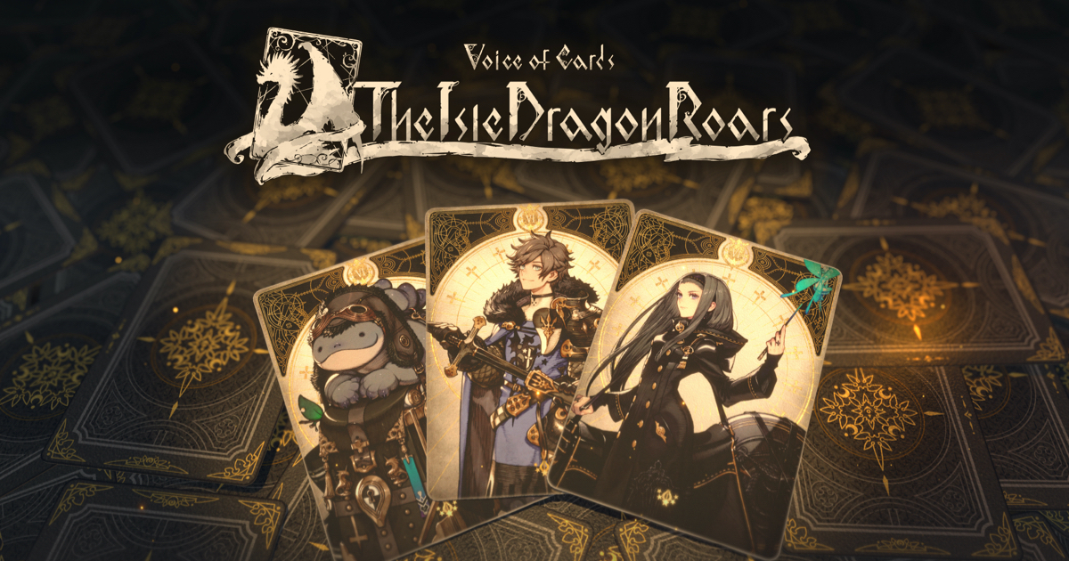 Voice of Cards: The Isle Dragon Roars Releasing on October 28th