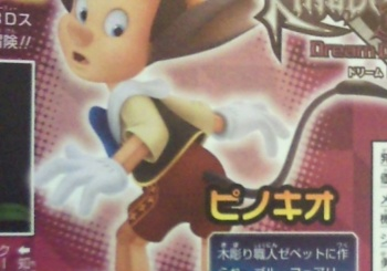 Pinocchio World is confirmed in Dream Drop Distance