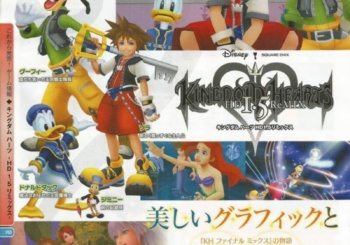Famitsu Weekly Kingdom Hearts 1.5 HD ReMIX Scans