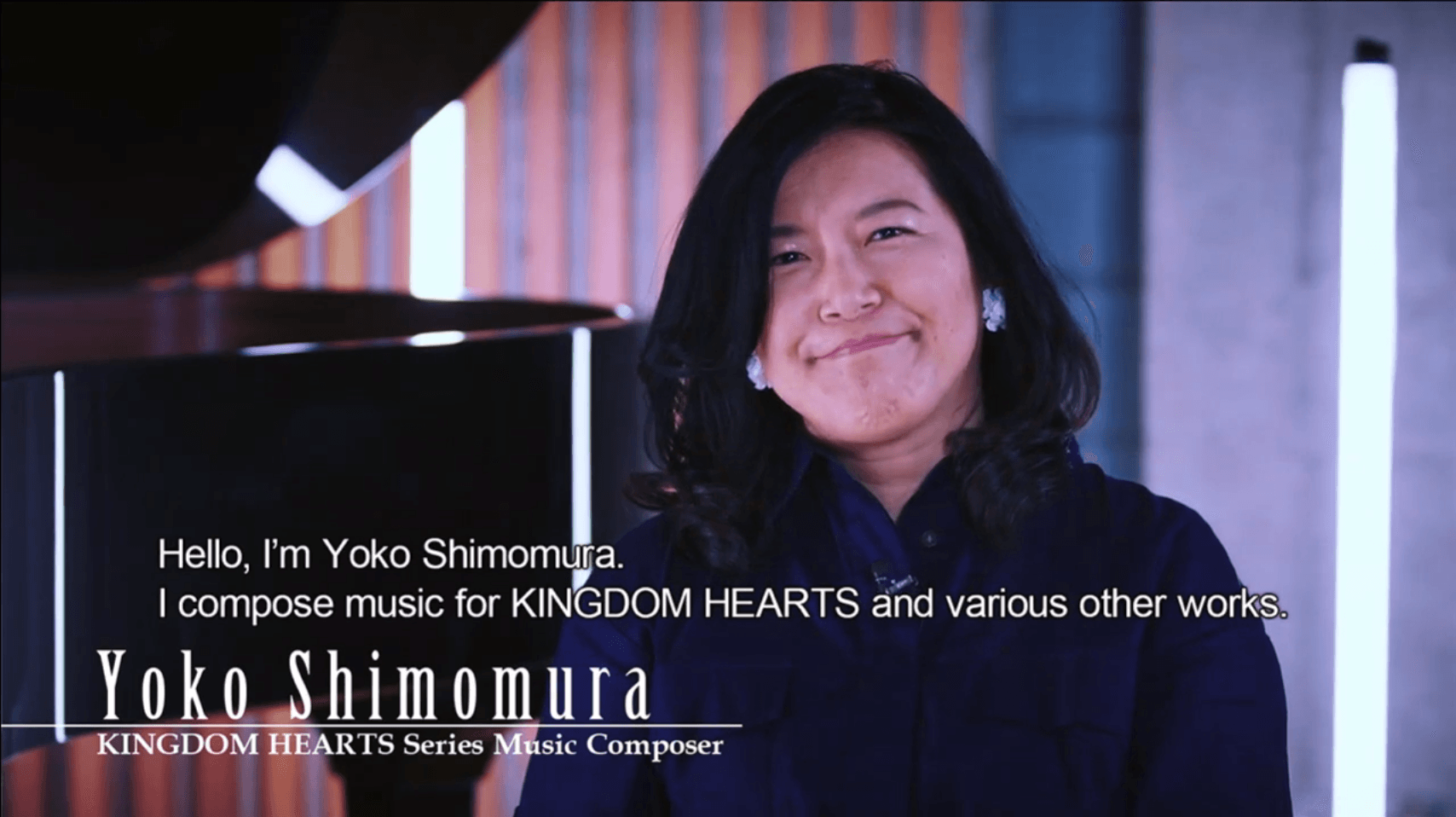 Yoko Shimomura talks Kingdom Hearts Music
