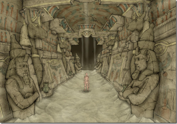 Square-Enix's new reveal is Catacombs