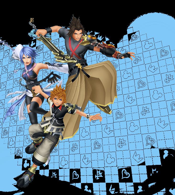 Kingdom Hearts 2.5 Website Update KHBBS + KH2FM Trailers