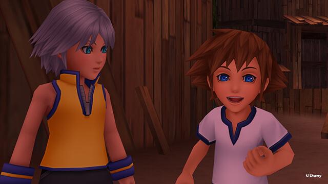 Kingdom Hearts 2.5 HD ReMIX Birth By Sleep Screenshots.